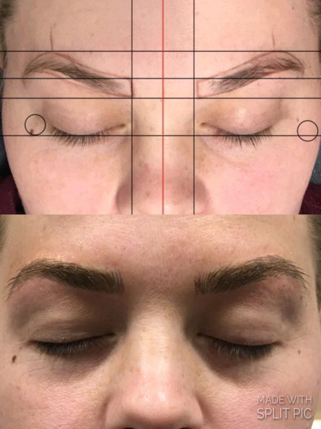 Before & After 01 - DFW Microblading of Murrieta and Temecula