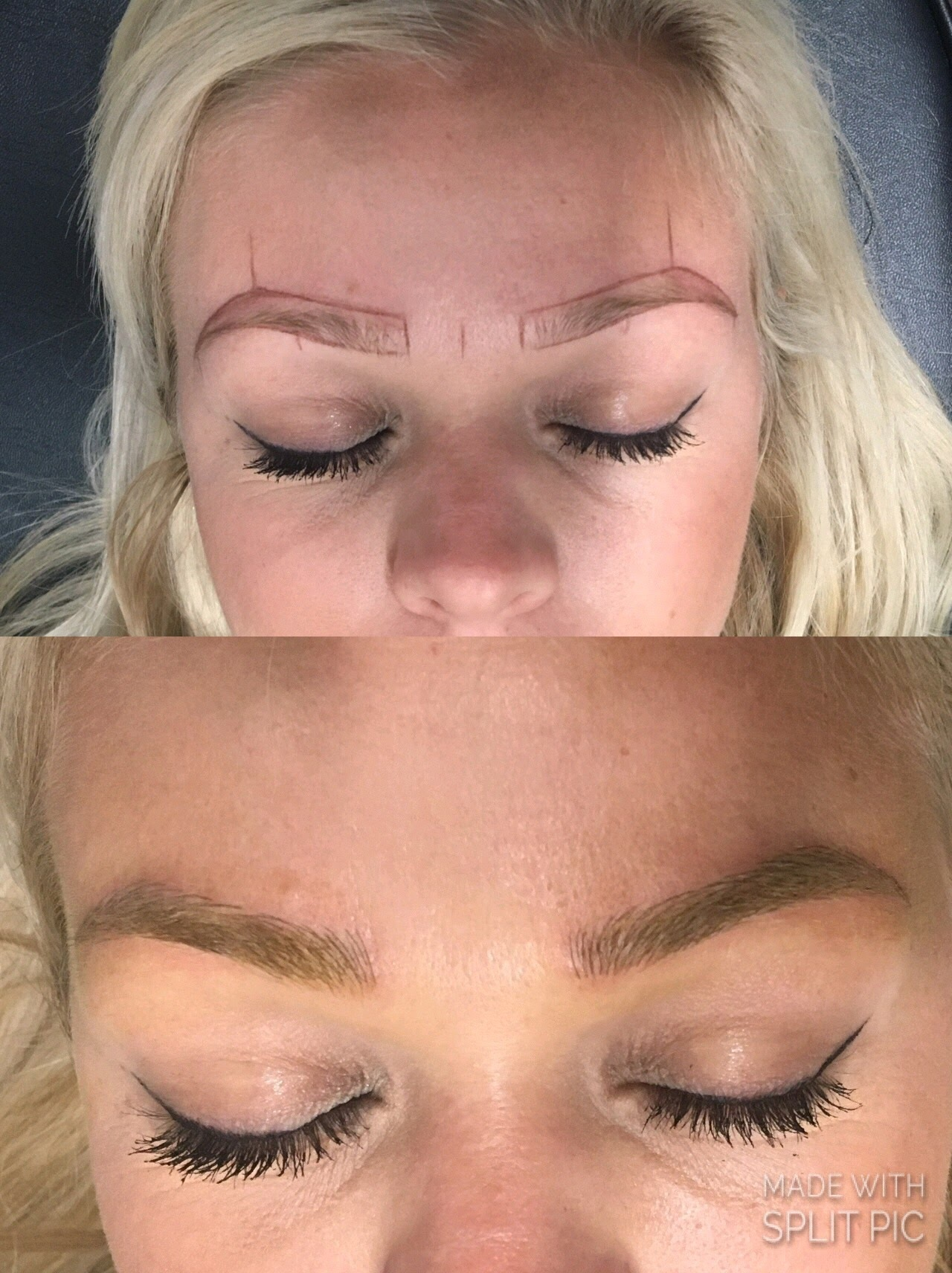 Before & After 02 - DFW Microblading of Murrieta and Temecula